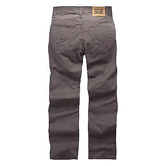Levi's Boys' Little 511 Slim Fit Soft Brushed Pants, Dark Gull Grey, 7