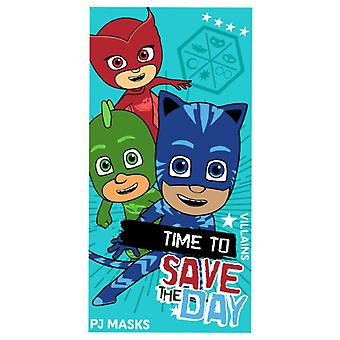 Pj masks towel bath and beach summer