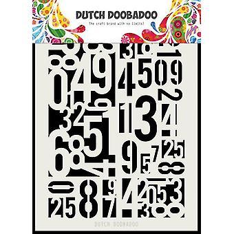 Dutch Doobadoo Dutch Mask Art Numbers A5 470.715.146
