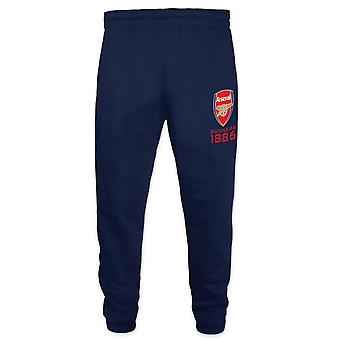Arsenal FC Official Football Gift Boys Slim Fit Fleece Joggers Jog Pants