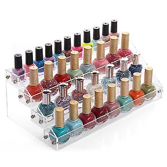 Display for nail polish-4 layers of plexiglass