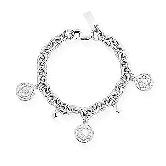 ChloBo Silver The Happiness Bracelet