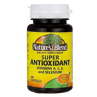 Nature's blend super antioxidant, softgels, 60 ea