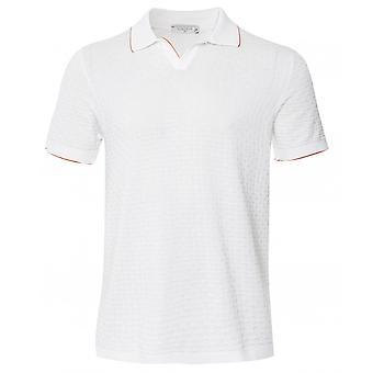 Circolo 1901 Textured Knit Riviera Polo Shirt