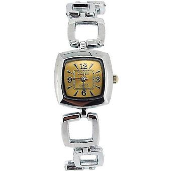 The Olivia Collection Ladies Square Goldtone Dial Armband Strap Dress Watch COS18