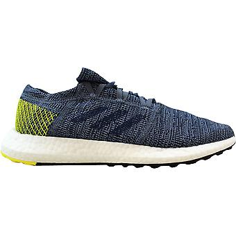 Adidas Pureboost Go Steel/Blue-Shock Yellow AH2322 Men's