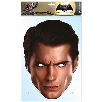 Superman Dawn of Justice Henry Cavill Single Card Party Fancy Dress Mask