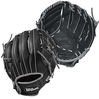 Wilson A360 Youth Kids Baseball Glove Mitt Black 12