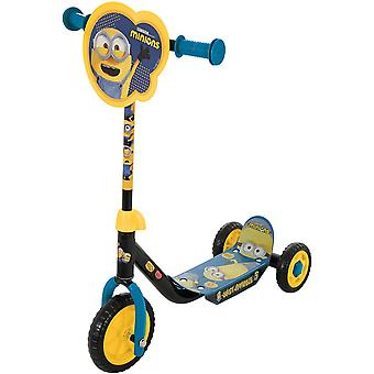 Minions 2 deluxe tri scooter mv sports ages 3-5 years old