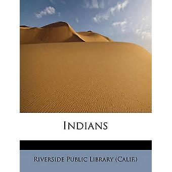 Indianere av offentlige bibliotek California & Riverside