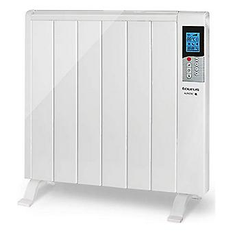 Digitale dry thermal electric radiator (6 kamer) Taurus Mandarijn 1200W Wit