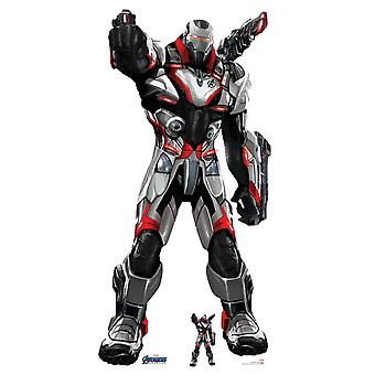 War Machine Marvel Avengers: Endgame Official Lifesize Cardboard Cutout / Standee