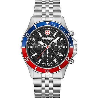 Swiss Military Hanowa - Wristwatch - Unisex - 06-5337.04.007.34 - Flagship Racer Chrono -