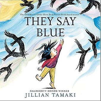 They Say Blue by Jillian Tamaki - 9781419740961 Book