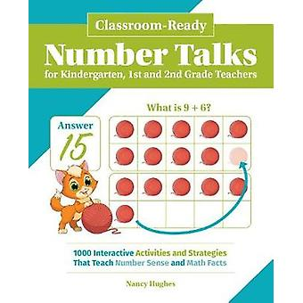 Classroom-ready Number Talks For Kindergarten - First And Second Grad