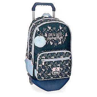 Enso Love & Lucky Backpack - 40 cm Double Compartment with Trolley