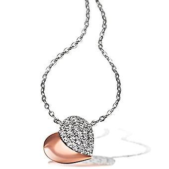 Goldmaid Silver Silver Necklace With brilliant Zirconia Cubic Zirconia 45cm He-C7324SR