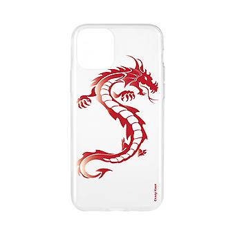 Shell für iPhone 11 Soft Red Dragon