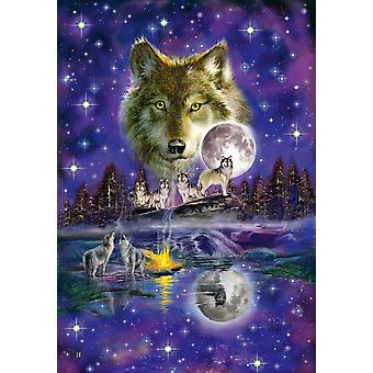 Lupo Schmidt In Moonlight puzzle Puzzle (1000 pezzi)