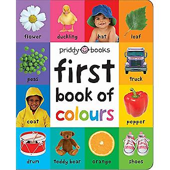 First Book of Colours (Large Ed) by Roger Priddy - 9781783418961 Book