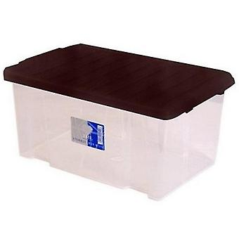 TML Clear Storage Box with Lid