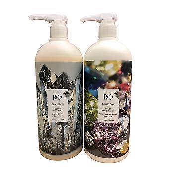 R+Co Gemstone Color Shampoo & Conditioner Set 33.8 OZ Each