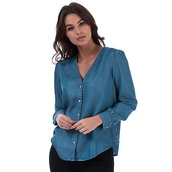 Women's Levis Malika Shirt in Blue