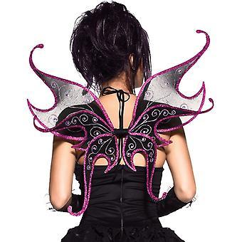 Wings Purple And Black