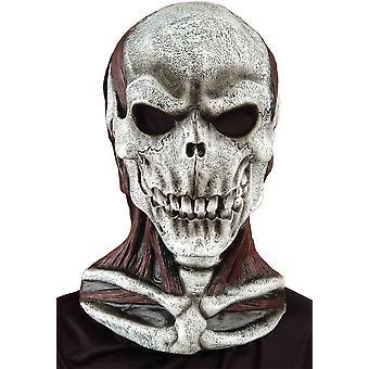 Skalle med bröstet Mask