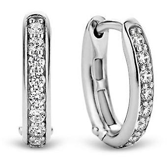 Ti Sento 7759ZI Øreringe - Sølv øreringe Zirconium Ring Kvinder