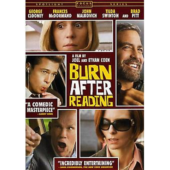 Burn After Reading [DVD] USA import