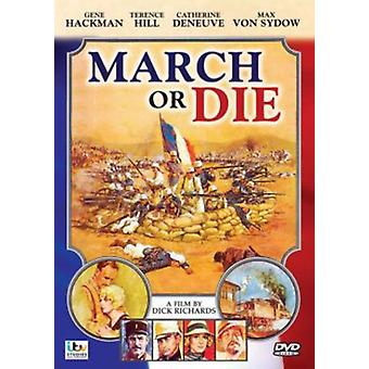 March or Die [DVD] USA import