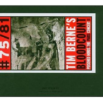 Bloodcount - Poisoned Minds-Paris Concert 2 [CD] USA import