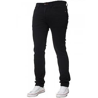 Eto Jeans | Apt Em580 Skinny Hyper Stretch Reflex Denim Jean - Black