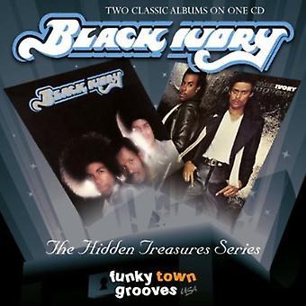 Black Ivory - Black Ivory/Hangin' Heavy [CD] USA import