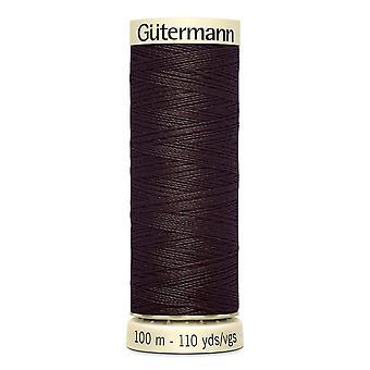 Gutermann Sy-all 100% Polyester Tråd 100m Hånd- og maskinfargekode - 23