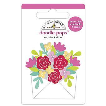 Doodlebug Design Sending Love Doodle-Pops