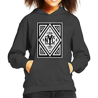 Divide & Conquer USA NYC Kid's Hooded Sweatshirt