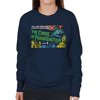 Hammer Horror Films Curse Of Frankenstein Chained Hand Women's Sweatshirt