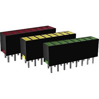 Signal Construct ZAQS0807 LED lineaire array 8x Rood (L x W x H) 20 x 7 x 4 mm