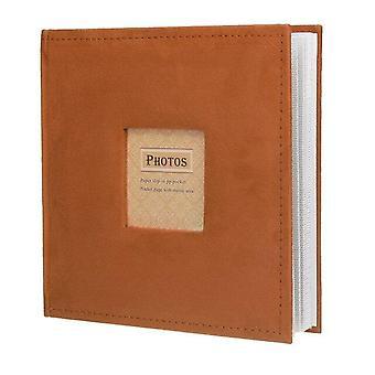 4R 6 & Photo Album 200 Pockets - Családi memória képek Storage Hold Case Baby Esküvői Érettségi Emlékalbum Scrapbook