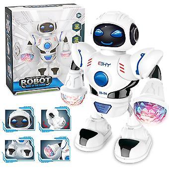 Elektrický hyun tanečný robot (biely)