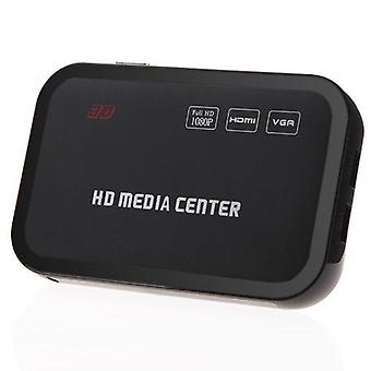 1080p Full Hd Media Player Center Avec Cont à distance