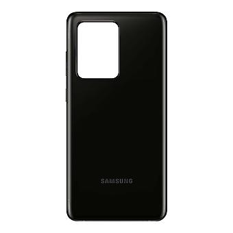 Replacement Battery Cover for Samsung Galaxy S20 Ultra Back Cover - Black