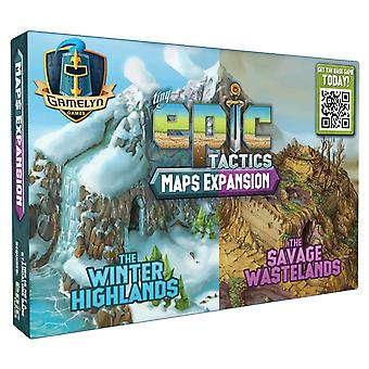 Pack d'extension de la carte Tiny Epic Tactics