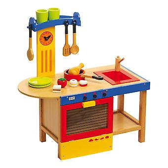 Legler Small Foot Children's Wooden Magic Kitchen Playset Unisex Multi-color