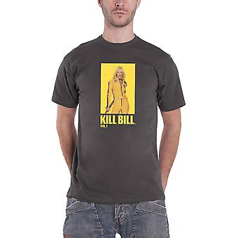Kill Bill T Shirt Movie Logo new Official Mens Grey