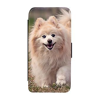 Hund Pomeranian Samsung Galaxy S9 Plånboksfodral
