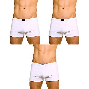 Franco boxer white stretch cotton pack of 3