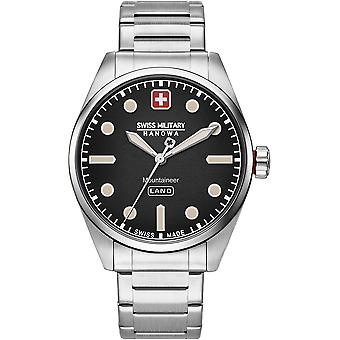 Militar suizo Hanowa 06-5345.7.04.007 Reloj de los hombres montañero